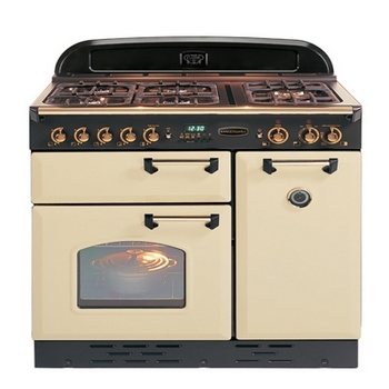 Dual fuel cooker range