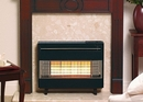 Robinson Willey Outset Gas Fire - A85048 (FireGem Visa 2) BLACK/CHROME
