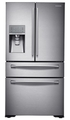Samsung Food ShowCase RF23HTEDBSR 70/30 American-Style Fridge Freezer - Real Stainless