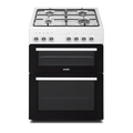 Simfer 60cm Twin Cavity Gas Cooker - F6402SHRB