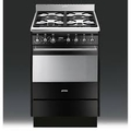 Smeg 60cm Single Cavity Dual Fuel Cooker - SUK61MBL8