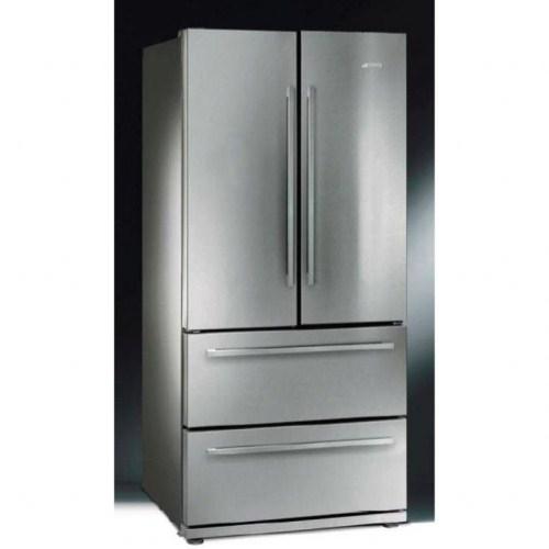 Wine Refrigerator Reviews >> Smeg 84cm Frost Free American Fridge Freezer - FQ55FX ...