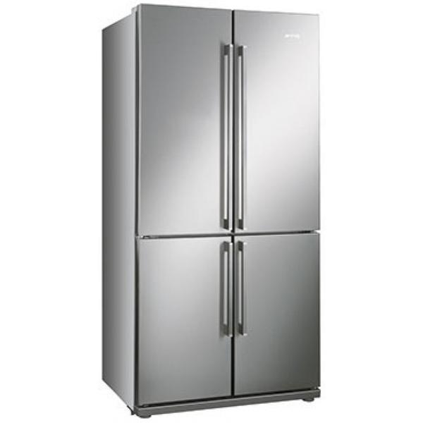 Smeg 92cm Frost Free American Fridge Freezer - FQ60XP : West Midlands Electrical Superstore ...
