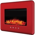 Smeg Modern Electric Landscape Wall Mount Fire Red - L30FABERE