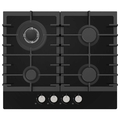 Statesman 60cm 4 Burner Gas Hob - GH60GB