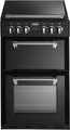 Stoves 55cm Double Oven Dual Fuel Cooker - RICH 550DFW BLK