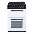 Stoves 55cm Double Oven Dual Fuel Cooker - RICH 550DFW ICY BROOK