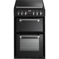 Stoves 55cm Double Oven Electric Cooker - RICHMOND 550E BLK