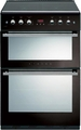 Stoves 60cm Double Oven Lidded Gas Cooker - 61GDOTBL