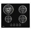 Stoves 4 Burner Gas Hob - GTG60CBLK