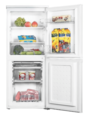Teknix 50cm Static Fridge Freezer - SF1250W