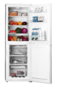 Teknix 50cm Static Fridge Freezer - SF1550W