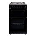 Teknix 50cm Twin Cavity Gas Cooker - TKGF50TBL
