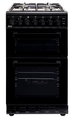 Teknix 50cm Twin Cavity Gas Cooker - TKGF50TBL