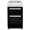 Teknix 50cm Twin Cavity Gas Cooker - TKGF50TWH