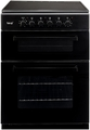 Teknix 60cm Double Oven Electric Cooker - TK61TCB