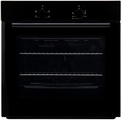 Teknix 60cm Fan Assisted Electric Single Oven - BITK60ESB