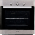 Teknix 60cm Fan Assisted Electric Single Oven - BITK61ESX