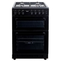 Teknix 60cm Twin Cavity Gas Cooker - TKGF60TBL