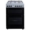 Teknix 60cm Twin Cavity Gas Cooker - TKGF60TS