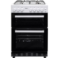 Teknix 60cm Twin Cavity Gas Cooker - TKGF60TWH