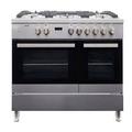 Teknix 90cm Double Oven Range Cooker - TKDF90PSS