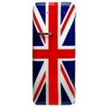 Teknix Retro Tall Fridge and Ice Box Union Jack - T330RDU