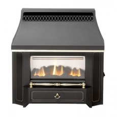 Valor Outset LFE Slimline Gas Fire - 0534101 (Black Beauty)