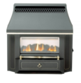 Valor Outset Slimline Gas Fire - 0534101 (Black Beauty)