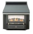 Valor Outset Slimline Gas Fire - Black Beauty Slimline (0534101)