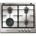 Whirlpool 60cm 4 Burner Gas Hob - GMA6422IXL