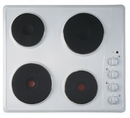 Ignis 60cm Solid Plate Hob - AKL7000WH