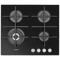 Whirlpool 60cm 4 Burner Gas Hob - GOW6423NB