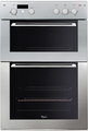 Whirlpool 90cm Fan Assisted Electric Double Oven - AKZ517IX