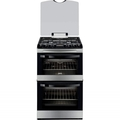 Zanussi 55cm Double Oven Gas Cooker - ZCG43200XA