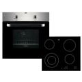 Zanussi Electric Oven and Ceramic Hob Pack - ZPVF4130X